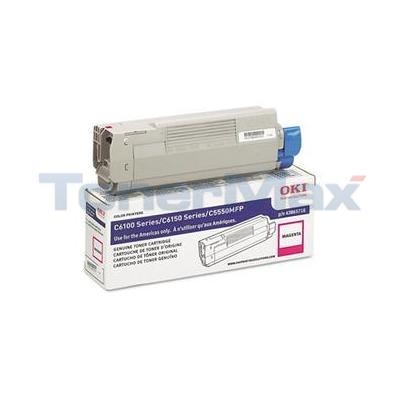 OKIDATA C6150 TONER CARTRIDGE MAGENTA